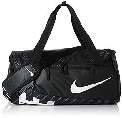 Nike Unisex Sports Bag Alpha Adapt Crossbody, black / white, 53.5 x 28 x 25.5 cm, 33 Liter, BA5183-010