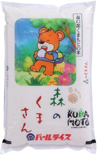 【精米】 熊本県産 白米 森のくまさん 5kg 令和元年産