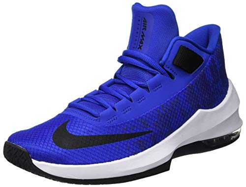 Nike Herren Air Max Infuriate 2 Basketballschuhe, Mehrfarbig (Game Royal/Black/White 001), 42.5 EU