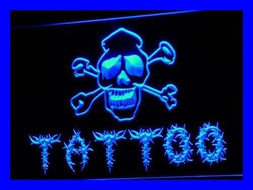ADV PRO Enseigne Lumineuse i556-b Tattoo Shop New Bar Pub Miami Ink New Light Sign