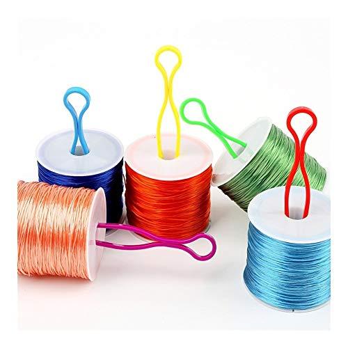 BLTR for Las máquinas de Coser bobinas carretes de Hilo Matching 10/20/30 / Costura de la Herramienta 50PCS Costura Accesorios artesanales de Almacenamiento del Soporte for Tarjetas Tarjeta
