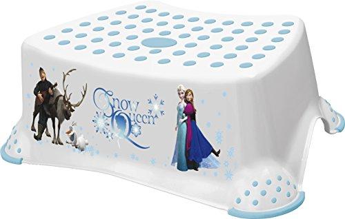 Disney La Reine des neiges pour enfant Réducteur de toilette et Marchepied Combo – Blanc