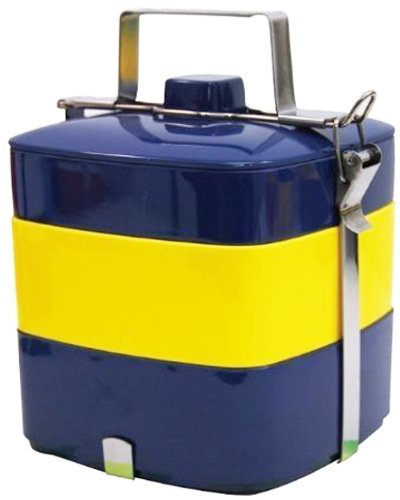 Primal Designs お弁当箱 3段 ピクニックスクエアボックス パッケージ付 国旗 ノルディック 3200ml