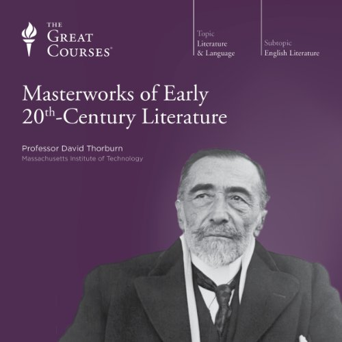Masterworks of Early 20th-Century Literature audiobook cover art