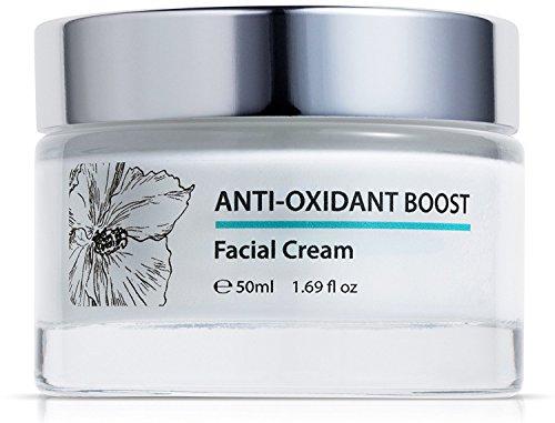 Green Keratin Crème visage Anti-Âge avec triple thé (Vert, Blanc et Rooibos)   Vitamines A, C & E   Acide hyaluronique   50ml