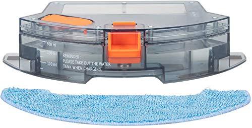 Bagotte Saugroboter, 300ML Wassertank mit 2PCS Mop Kleidung, für BG600Max Staubsauger Roboter