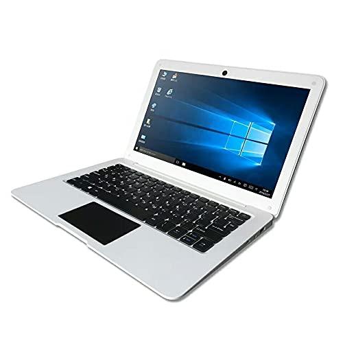 Festnight Netbook portátil de 10.1 Pulgadas con CPU Intel Atom X5-Z8350 2GB + 32GB Memoria 1280 * 800 Pantalla IPS Conexión WiFi/BT Enchufe Europeo Blanco