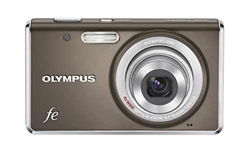 Olympus FE-4040 Digitalkamera (14 Megapixel, 4-Fach Zoom, 6,9 cm (2,7 Zoll) Display) Indium Grey