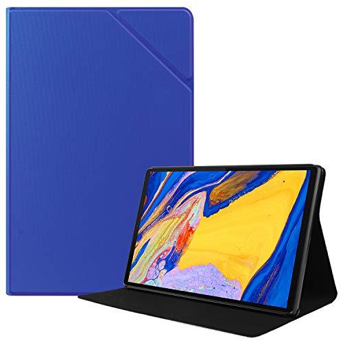 HoYiXi Custodia per Lenovo Tab M10 Plus 10.3 Ultra Sottile Case in Pelle Cover con Supporto Funzione Custodia di Tablet per Lenovo Tab M10 Plus 10.3 TB-X606F TB-X606X - Blu Scuro