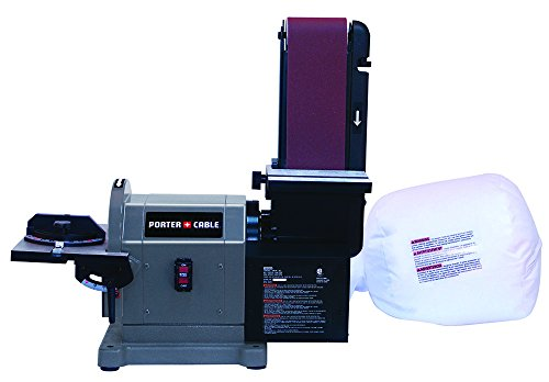 """Porter-Cable PCB420SA Belt with 8"""" Disc Bench Sander, 4"""" x 36"""""""