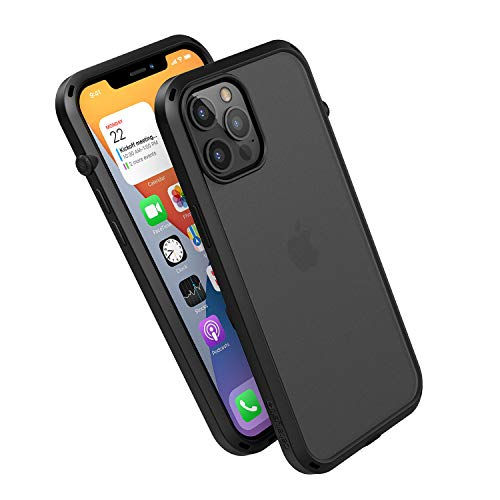 Catalyst Influence - Carcasa para iPhone 12 Pro y iPhone 12, color negro