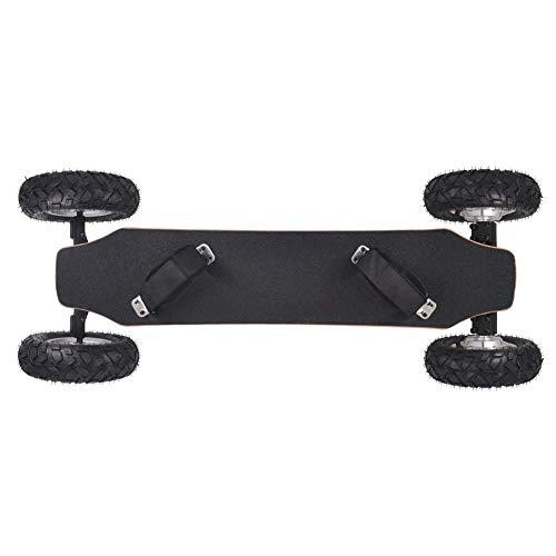 Kyman 43-Zoll-Elektro-Skateboard Longboard, Cross Country Skateboard mit Wireless Fernbedienung, Funk-Fernbedienung elektrischen Brett, E-Skateboard for Erwachsene und Jugendliche