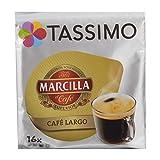 Capsulas Tassimo Marcilla Café Largo 80 bebidas NOVEDAD