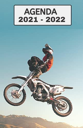 Agenda Scolaire 2021 - 2022: Agenda 2021 2022 Moto - Standard Primaire - Collège - Lycée - Etudiant - d'août à août - avec calendrier des vacances scolaires par zones