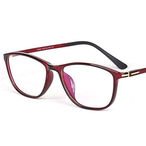 Reading glazen ultralichte leesbril, comfortabele anti-vermoeidheidsbril, heren- en damesleesbril, tweekleurige stempel, solide scharnieren, geschikt voor het lezen