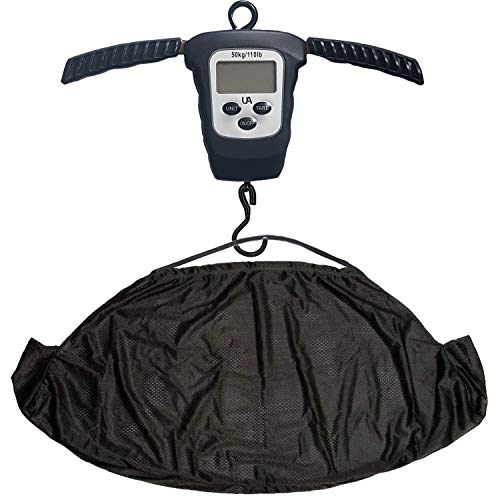 Digitally Accurate Folding Fishing Weighing Scales & Sling - Weight Up To 50 KG / 110 LBS