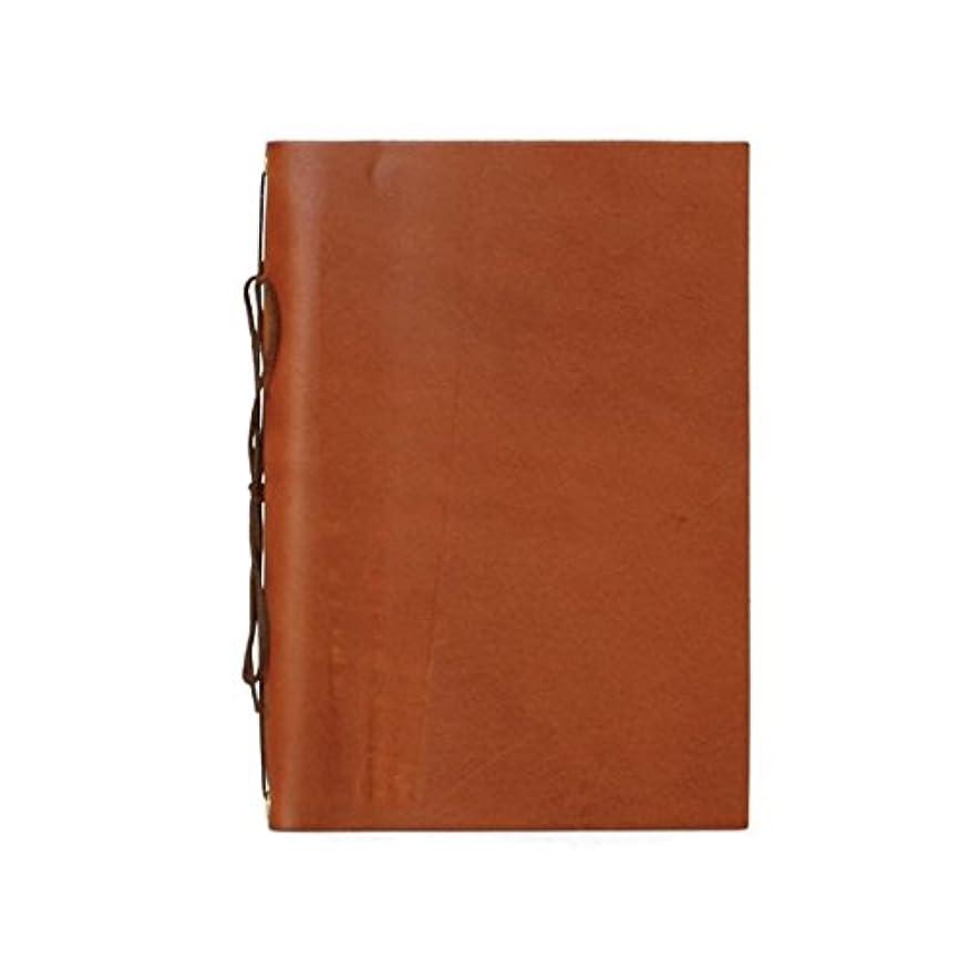 DURAM ドゥラム 紐綴じノート 15015 ブラウン [KB114]