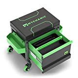 MYCHANIC Garage Rolling Toolbox Stool - Sidekick Stool - SK3 - Holds 500 lbs