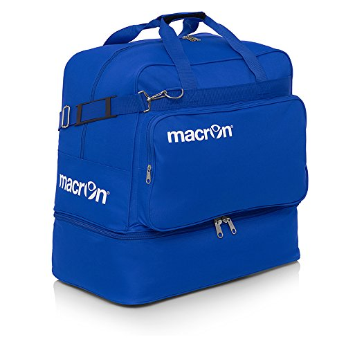 Macron via Sportkair All IN - Borsa sportiva (55/80 l), colore: Blu