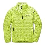 Columbia Alpine Crux Chamarra de Plumas, Verde Amarillento Brillante, XXL para Hombre