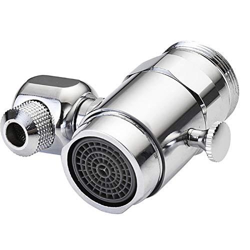 LIANGLEY Filtro de Salpicadura Universal Faucet Boquilla giratoria Cabeza giratoria Tapón de reemplazo 62kd