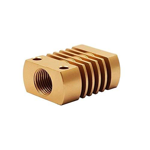 BXU-BG 27x22x12mm MK10 V6 in Alluminio del dissipatore di Calore del radiatore della Stampante 3D CR-10