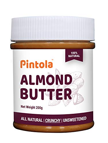 Pintola All Natural Almond Butter (Crunchy) (200g)