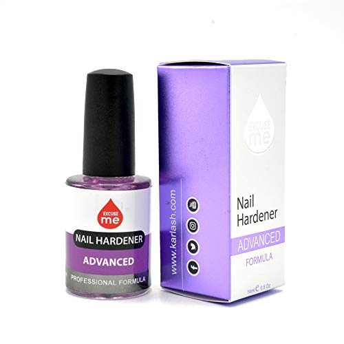 Excuse Me Nail Hardener Advanced Formula Strengthener Nail Growth System 0.5 oz