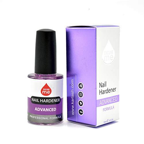 Excuse Me Nail Hardener Advanced Formula Strengthener Nail Growth System 0.5 oz