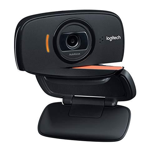 Logitech B525 -Webcam HD 720p, Color Negro