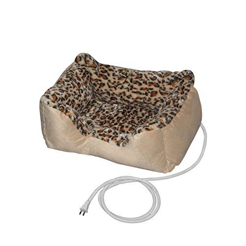 ALEKO PBH20X16X8 Electric Thermo-Pad Heated Pet Bed
