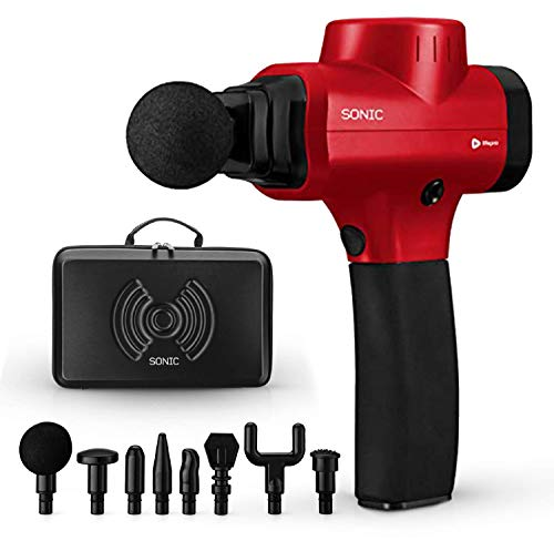 Sonic Handheld Percussion Massage Gun is a top rated percussion massager for athletes