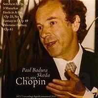 「パウル・バドゥラ=スコダ ショパンを弾く」ピアノ・ソナタ第3番ロ短調Op.58/マズルカ 嬰ハ短調Op.63-3/他