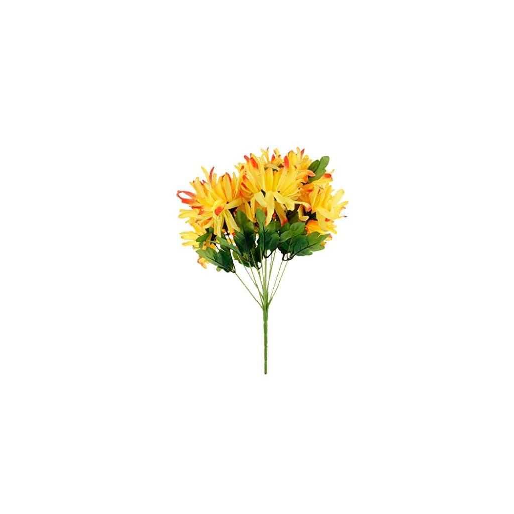 Artificial Silk Flowers Arrangement for Cemetery Funeral Memorial Grave |Color – Multi|