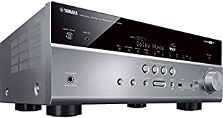 RXV685T YAMAHA 7.2Ch 150W Hdcp2.2 AV Receiver Dolby Atmos DTS-X Titanium RX-V685T Ability to Add Wireless Surround Speaker/S, Ypao Reflected Sound Control (R.S.C.) Sound Optimisation