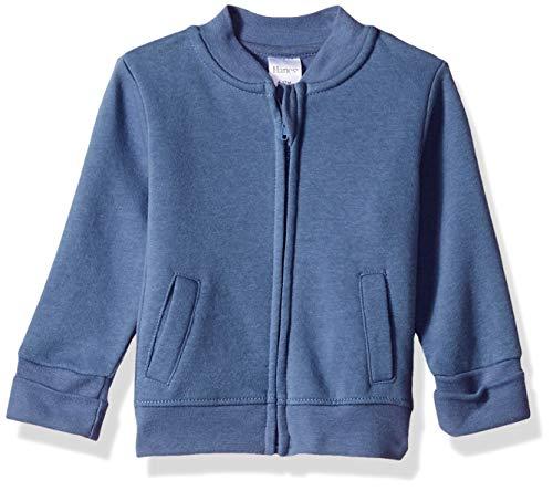 Hanes unisex baby Ultimate Zippin Fleece Jacket Sweatshirt, Dark Blue, 6-12 Months US