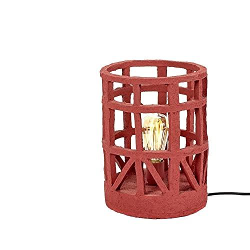 Set 1 Serax Earth Standing Lamp S - Lámpara de Pie/Mesa Pequeña Roja