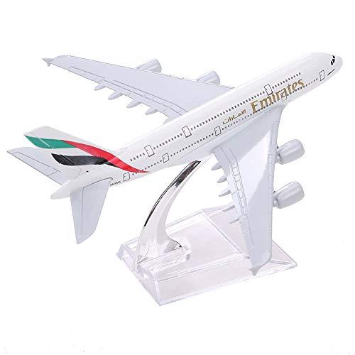 RONSHIN Algemeen Wh A380 Emirates Vliegtuig Modellering Speelgoed voor Collectie Office Ornamenten