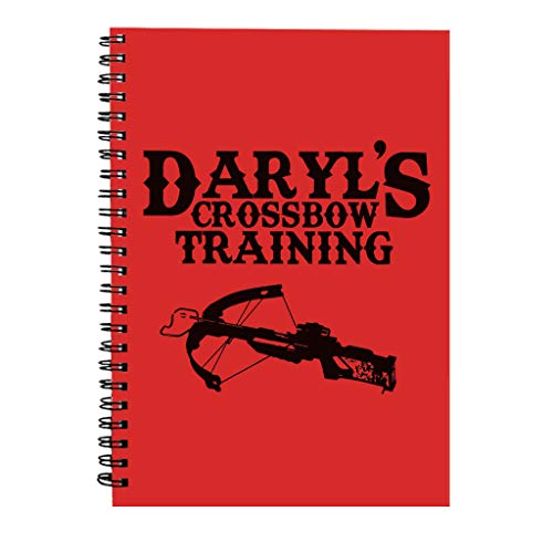 Daryls Crossbow Training Walking Dead Spiral Notebook