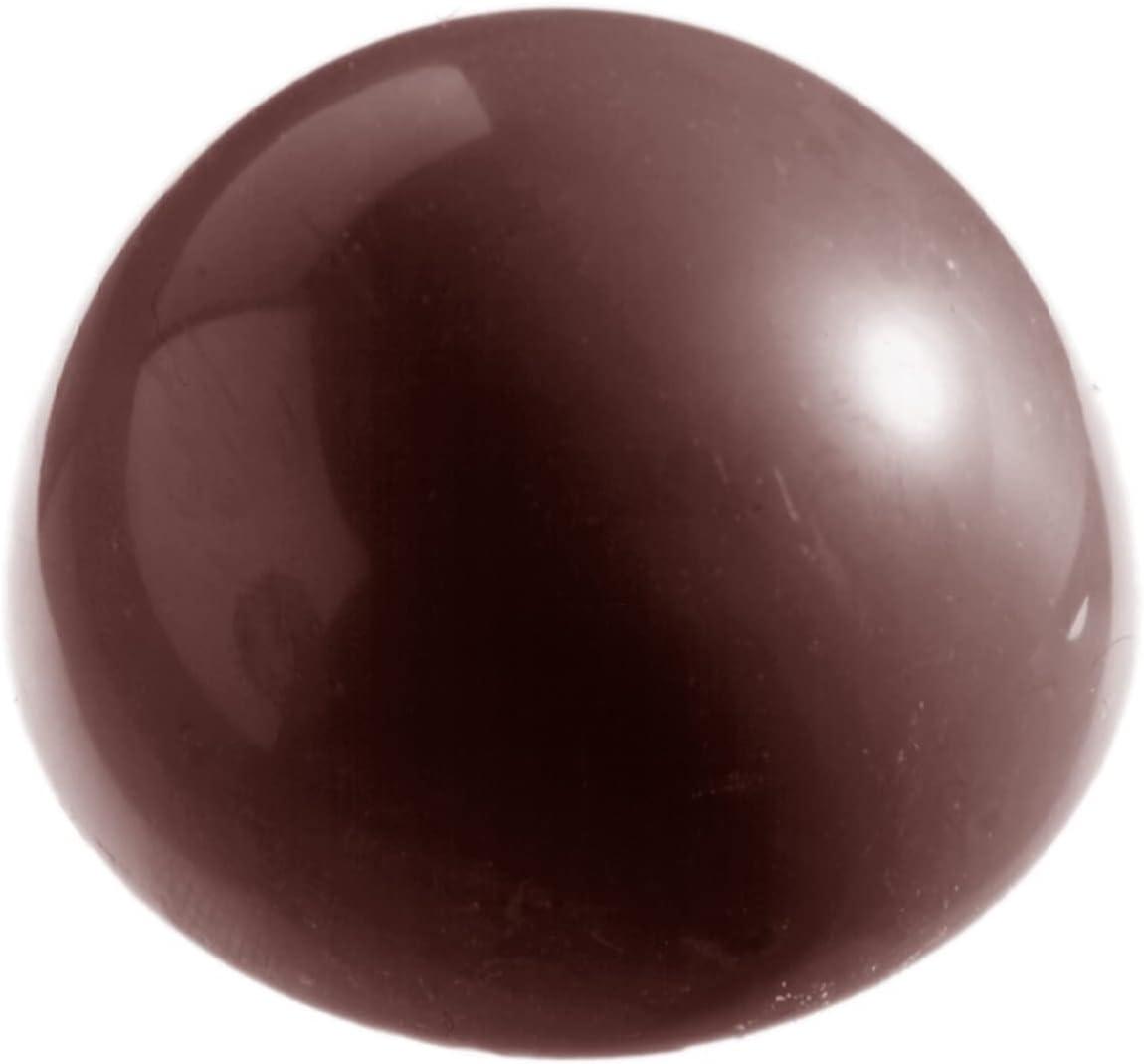 Chocolate Virginia Beach Mall World CW2253 Polycarbonate Candy SALENEW very popular Mold 6 with Hemispher