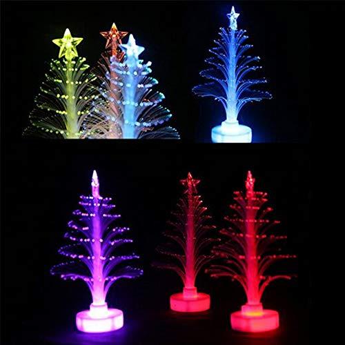 FairOnly Weihnachtsbaum, bunt, LED, glitzernd, zufällige Farbauswahl