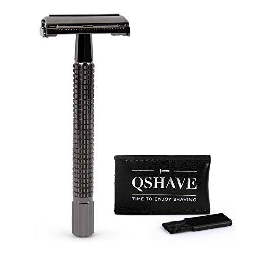 QSHAVE - Maquinilla de afeitar con sistema de seguridad/ apertura de mariposa con mango...