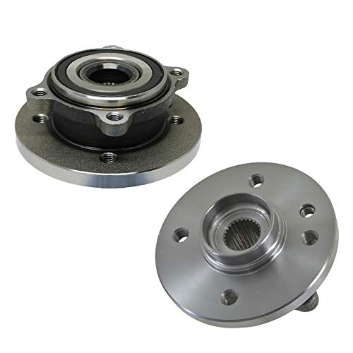 (Both) Front Wheel Hub and Bearing Assembly for 2002-2006 Mini Cooper 12MM THREAD LUG SIZE 4 Bolt w/ABS (Pair) 513226 x2