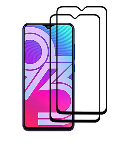 Spinzzy® 11D Tempered Glass Screen Protector Compatible for Vivo Y17 with Edge to Edge Full Glue Tempered Glass Coverage and Easy Installation (Pack of 2)