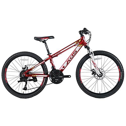 Axdwfd Infantiles Bicicletas Bicicleta Al Aire Libre para Niños, 24 Pulgadas, Niños Chicas Bicycle High Carbon Marco, por 12-15 Años