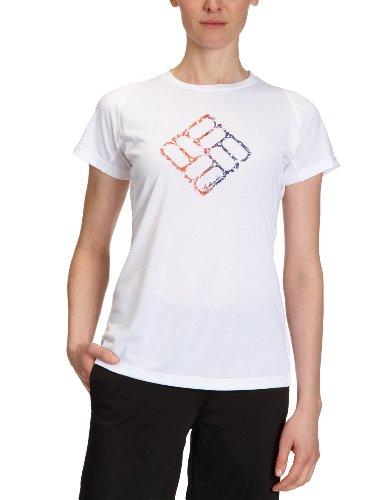 Columbia Silver Ridge T-Shirt pour Femme Blanc Blanc Small