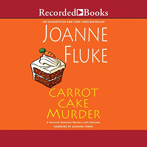 Carrot Cake Murder audiobook cover art