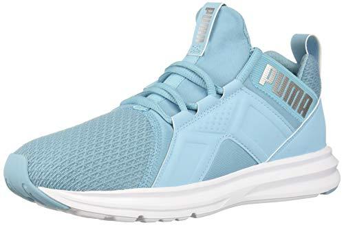 PUMA Women's ZENVO Shoe, Milky Blue-Silver, 8 M US