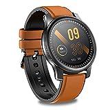 Chronus Smartwatch, Orologio Fitness Tracker Uomo Donna 360*360 HD Touch Schermo Smart Watch con Contapassi Cardiofrequenzimetro Cronometro, Orologi Activity Tracker Impermeabil IP67 per Android iOS