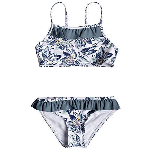 Roxy Magic Seeker Athletic Set Girls Bikini Age 4 Bright White